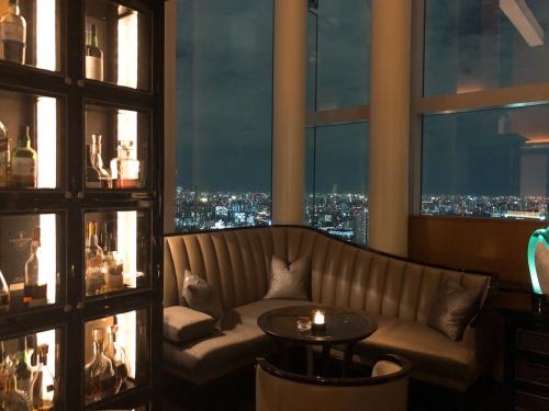 リッツカールトン東京thebarの夜景