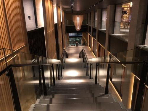 リッツカールトン京都のエントランス
