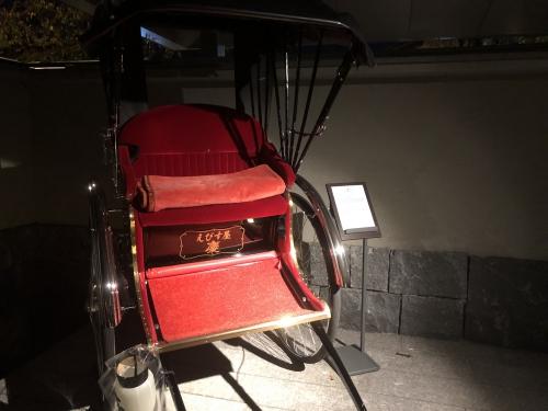 リッツカールトン京都人力車