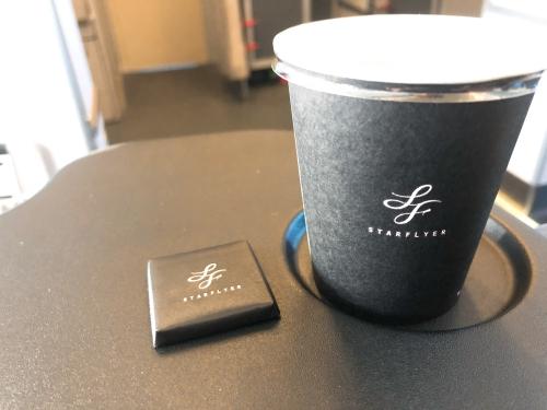 スターフライヤーのタリーズコーヒー