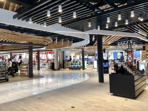 セブ空港の免税品店