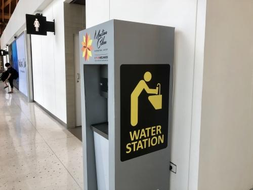 セブ空港のウォーターステーション