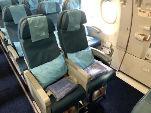 pr436便の機内