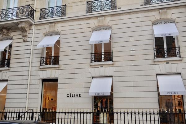 セリーヌのパリ本店