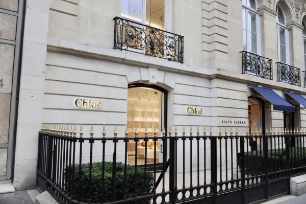 クロエのパリ本店