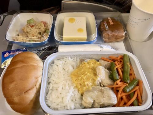 ガルーダインドネシア航空GA881便機内食