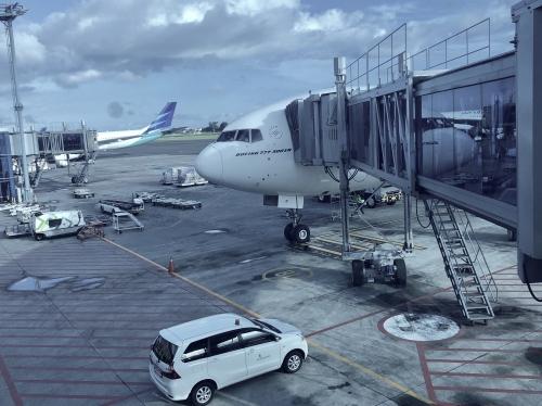 ガルーダインドネシア航空GA881便