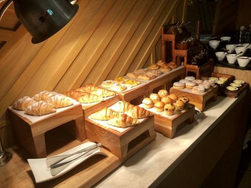 リッツカールトンバリのクラブラウンジ朝食