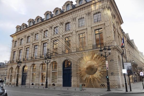 パリのルイヴィトン