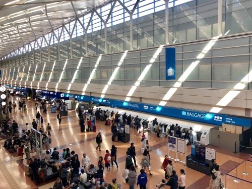 羽田空港お正月