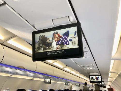 ANA A321テレビ