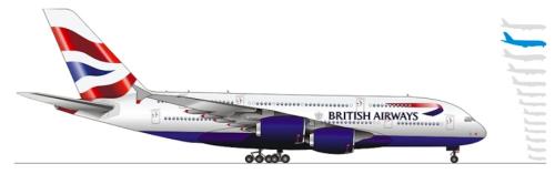 BAのA380