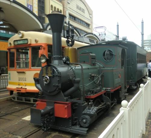 松山の坊ちゃん電車