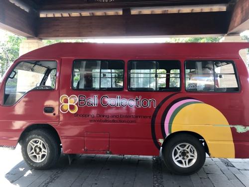リッツカールトンバリの送迎バス