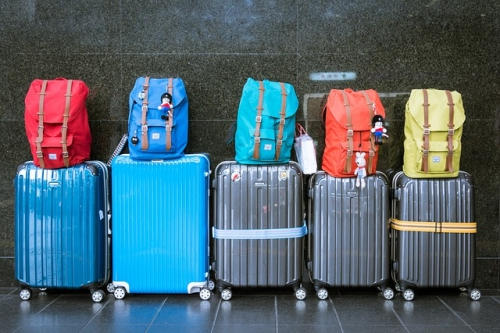 空港の荷物