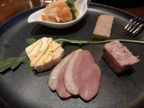 プリンスギャラリー紀尾井町ラウンジのイブニングカクテル