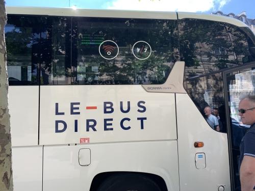 パリ空港バス