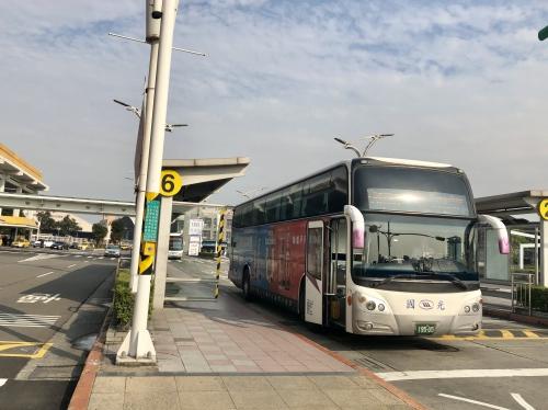 台北松山空港から市内バス