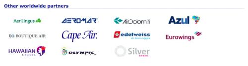 ユナイテッド航空提携航空会社