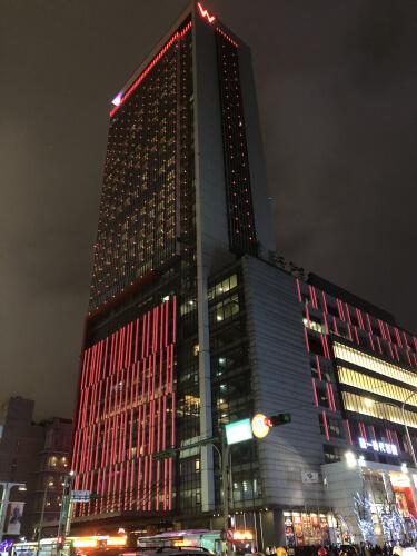 W台北の外観