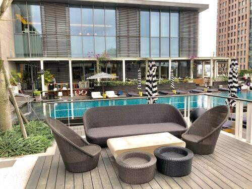 W台北のプール