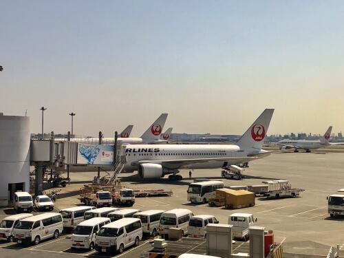 羽田空港第一ターミナルJAL