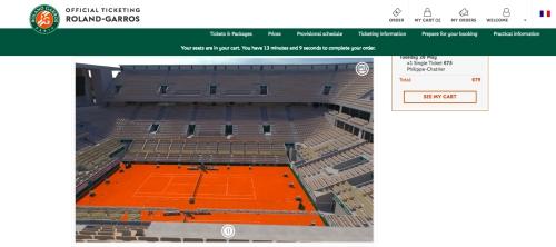 全仏テニスチケット