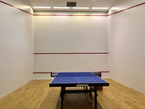 シェラトン台北の卓球場