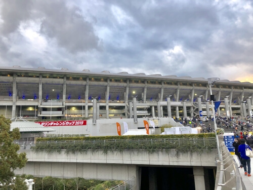 サッカー日本代表観戦