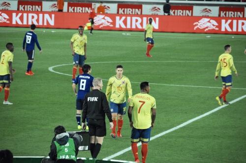 サッカー日本代表コロンビア観戦記