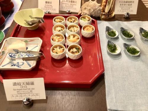 ロイヤルパークホテル高松ラウンジの朝食