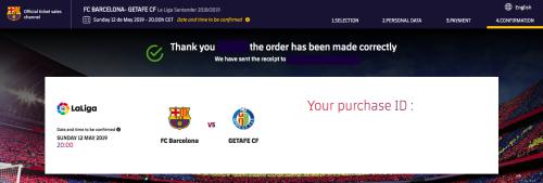 バルセロナチケット買い方