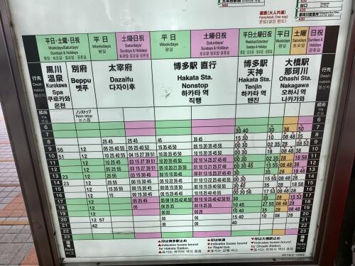 福岡空港から太宰府への行き方