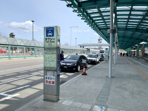 函館空港から函館駅タクシー