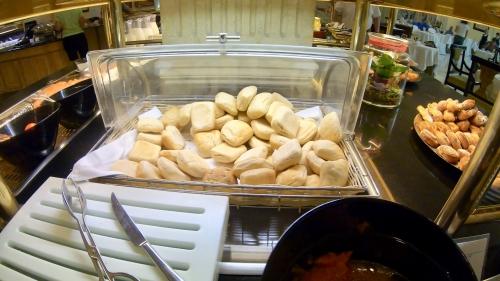 ウェスティンマドリードの朝食