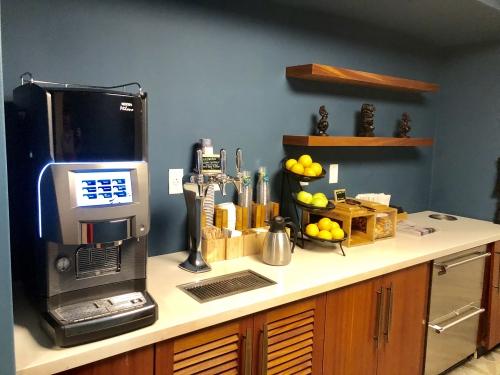 レイローのエグゼクティブフロアのカフェ
