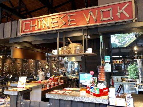 ナイトサファリシンガポールの中華料理