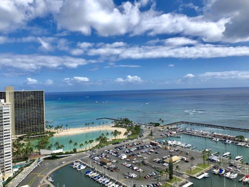 プリンスワイキキ(Prince Waikiki)のオーシャンフロントルーム