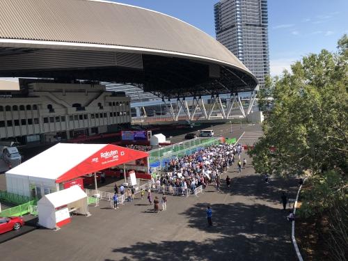 オリンピックテニス会場