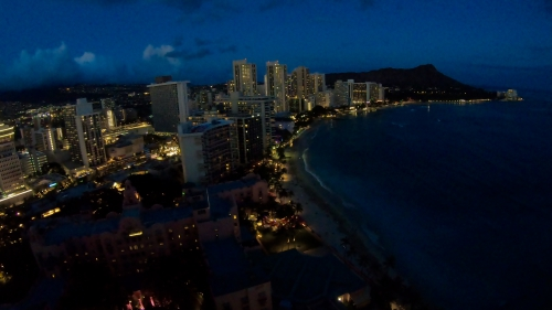 シェラトンワイキキ(Sheraton Waikiki)夜景
