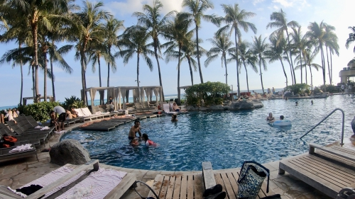 シェラトンワイキキ(Sheraton Waikiki)のプール