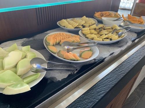 ウェスティン ハプナビーチリゾート朝食