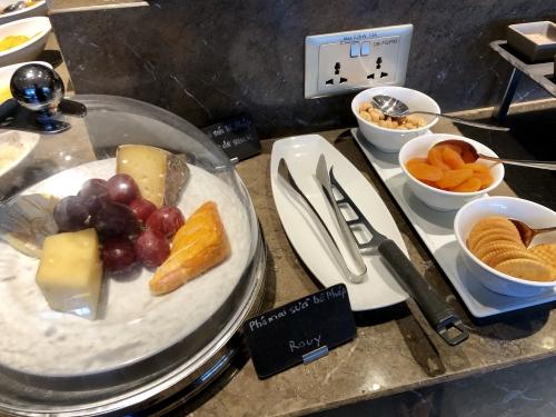 シェラトンサイゴンホテルホーチミンのラウンジ朝食