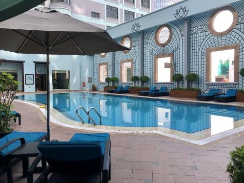 シェラトンサイゴンホテルホーチミンのプール