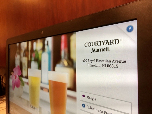 コートヤードワイキキビーチ(Courtyard by Marriott Waikiki Beach)
