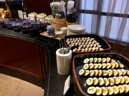 シェラトンハノイの朝食和食