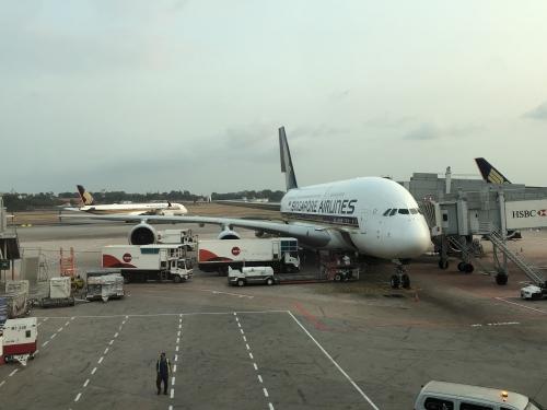 シンガポール空港A380