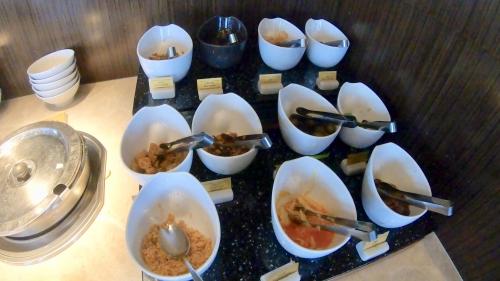 コートヤード台北ラウンジ朝食