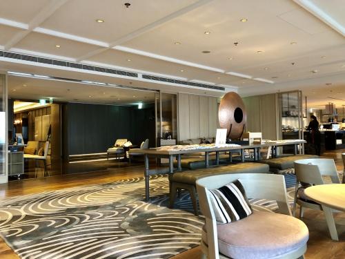 台北マリオットホテルのラウンジ