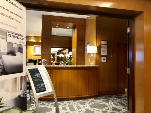 シェラトンモントリオール(Le Centre Sheraton Montreal Hotel)ラウンジ